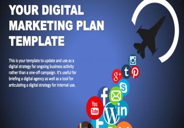 Digital Marketing Plan for 2018