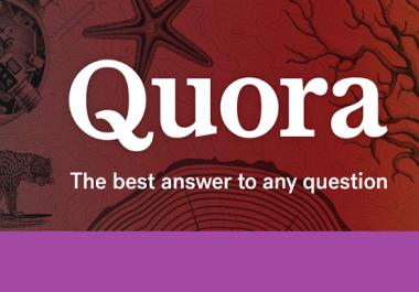 Provide 25 Quora Answer Box