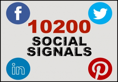 10200+ most Effective and Permanent High Quality High PR Social Signals