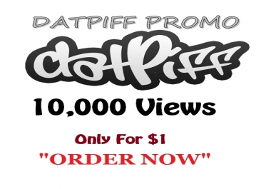 datpiff 10,000 views within few hours