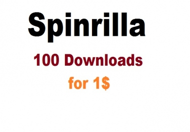 spinrilla 100 downloads to your mixtape