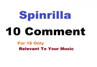 10 COMMENT FOR SPINRILLA MIXTAPE OR SINGLE