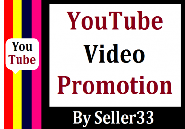Organic YouTube Promotion Very Fast Completed
