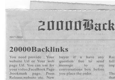 Create 5000 Automatic Backlinks