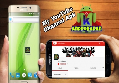 Get Your You.Tube Channel Into Android APK