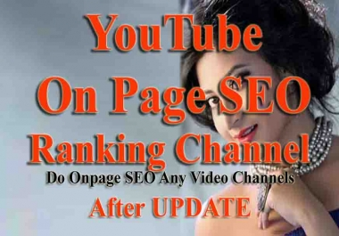 On Page SEO Your YouTube channel Video