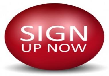 Get 500 signup on your referral link/website