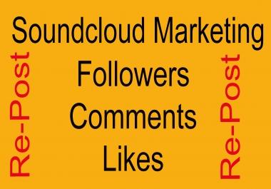 Soundcloud 320 Followers Or 200 Soundcloud Repost