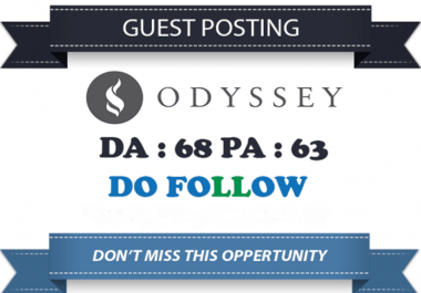 Write And Publish Guest Post On Theodysseyonline.com dofollow backlink