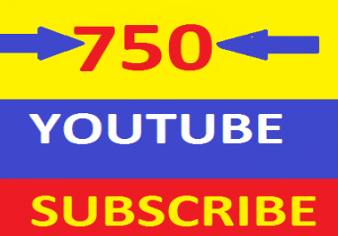 Non Drop 750+ YouTube ss.ubscribers