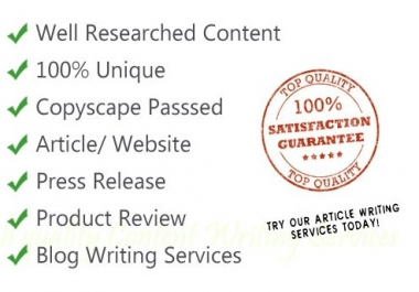 We will be your Website Content Writer or Rewriter