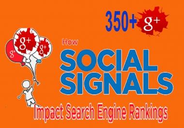 Google Plus 450+ Share Instant work