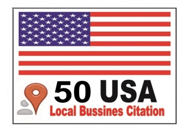 Manually Create 50 Local USA Business Citations For Local SEO