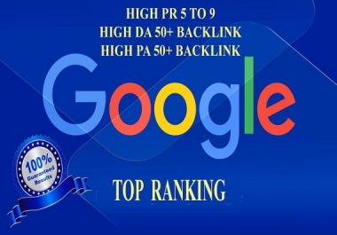 Do 35 web 2.0 high PR backlink for your website google top ranking