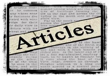 provide 300 high quality Unique articles