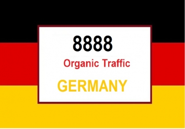 (Special Offer) 8888 Real Organic Traffic from Germany