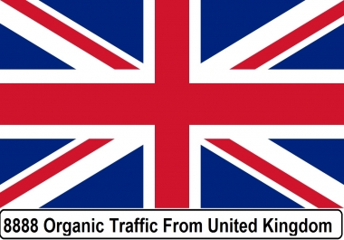 More than 7000 Real Organic Traffic from UK , USA