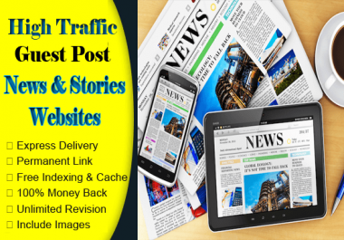 Write & Publish Guest Post On News And Stories Sites