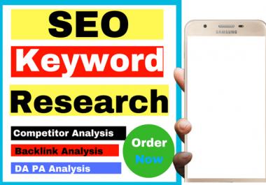 Do Local SEO Keyword Research
