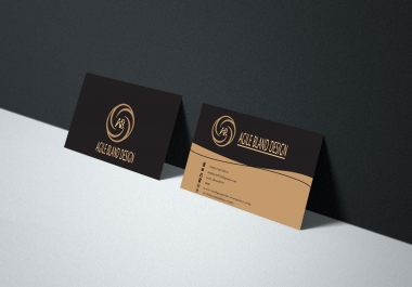24 hrs Professional Business Card Design 1 Side Or Both Side