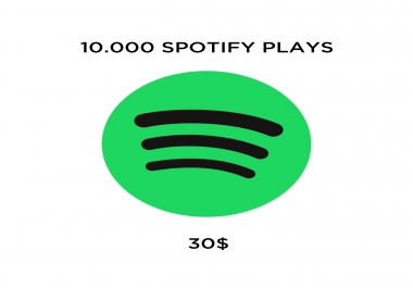 10000 Spotify Premium Plays On Your Song