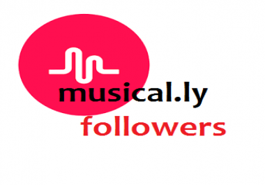 Get 400 followers to Your Musical.ly account