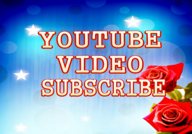 Get 501-551Life Time Non Drop  Channel Subscriber 12-24Hours Delivery