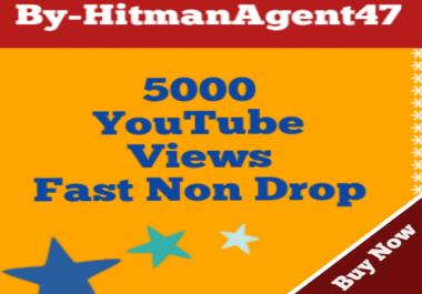 Safe 5000-6000 Youtube Vie ws Fast Non Drop