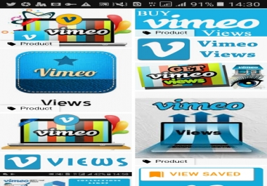 10000 worldwide vimeo video views