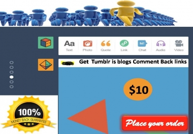 Get  Active Tumblr post with real traffic for your website or Blog