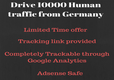 Send 10000+ real human traffic from France