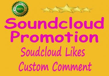 Soundcloud 1250+ Followers Or 1250+ Soundcloud Likes