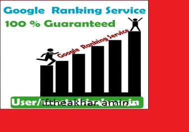 Guaranteed Google 1st Page Rank