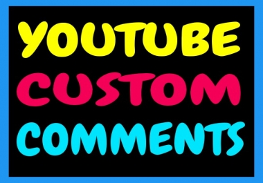 Fast Provide 100+ YouTube Custom Comments with 250+ Free YouTube Likes Only