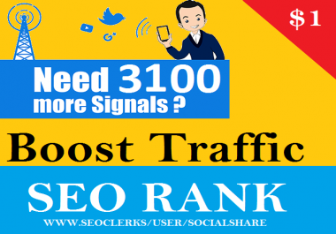 best  quality top 7 Social Platform  6600 seo social signal, Important SEO Ranking