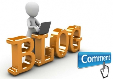 Provide 21 Quality blog comment