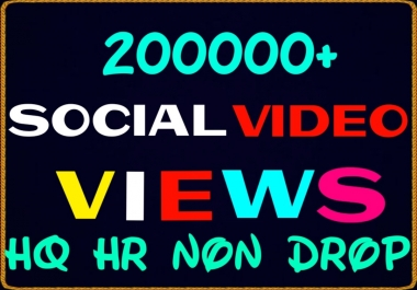 Add 200000+ worldwide video promotion professionally