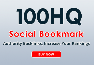 100+ social bookmarks to your site within a day