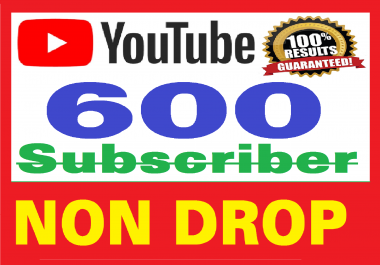 600+ Real Youtube Subscribers Safe & NON DROP