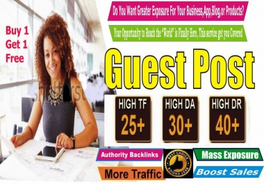 Professional GUEST Posting - Submit Authority Guest Post On Pr7 Website For Your Business Product Or Website  CHEAP Exposure Limited Time Offer Buy 1 Get 1 Free
