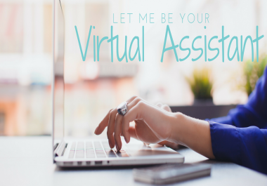 virtual assistant for 4-5 days for only