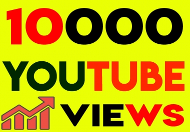 Fast 10,000+ Youtube Views 100 likes High Retention, non drop guarantee within 24hrs