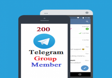 300 High Quality Telegram Members to Channels