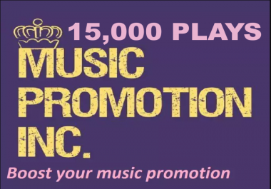 Soundcloud Promotion up to 15000 plays from USA