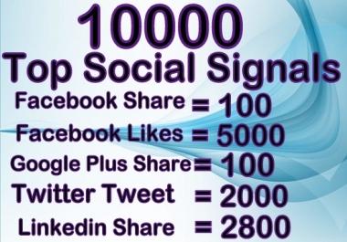 build 10000 social signals