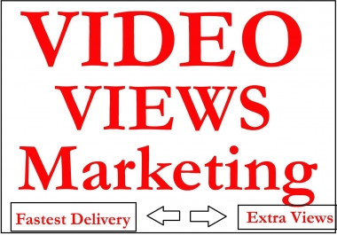 Video Views Marketing Promotion Viral views