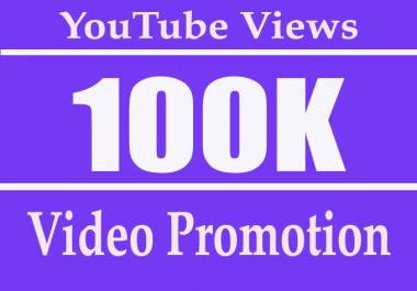 Adsense Safe 100k or 100,000 High Retention YouTube views with 20 Comment free