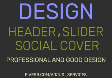 design professional website header or banners , Slider