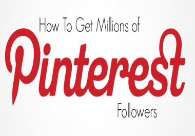 200 Pinterest Followers Real Human with world wide Followers