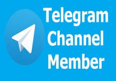 500+ Telegram  Channel Members All Are Real Members